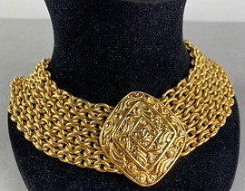 Collier chaine Chanel