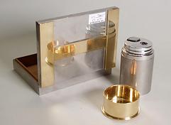 Boite à cigarettes et Briquet de table RAVINET DENFERT pour Hermès