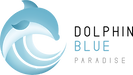 Dolphin Blue Paradise Logotype