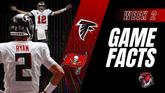 GameFacts Regular-Season Game Falcons @ Bucs