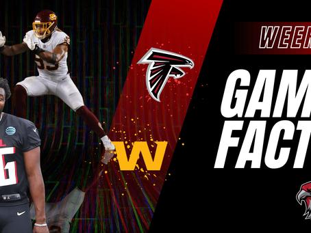 GameFacts Regular-Season Game Falcons vs WFT