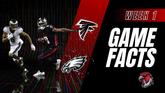 GameFacts Regular-Season Game Falcons vs Eagles