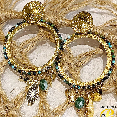 Boucles d'oreilles MARWA