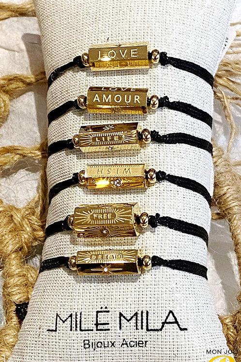 Bracelet CYLINDRE