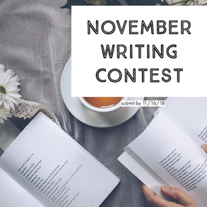 Writing Contest: Submission & Guidelines