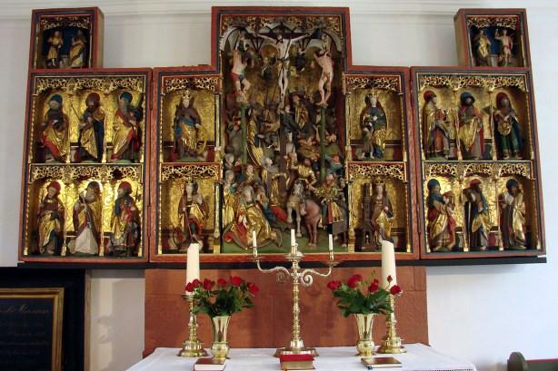 Hólar Altar