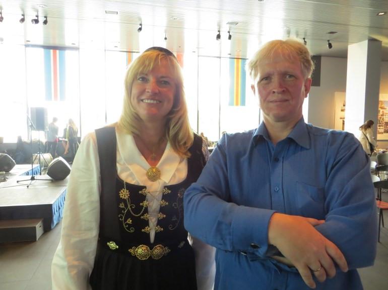 Viðar Hreinsson and Sunna Pam Furstenau