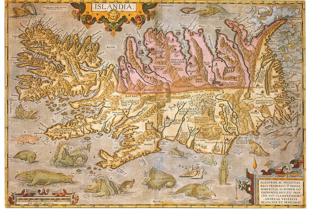 Holar Gudbrandur Thorlaksson map