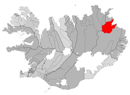 Vopnafjörður Map