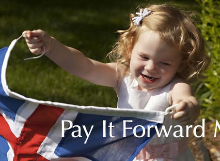 Pronouncing May 2019 as our First Pay it Forward Month!