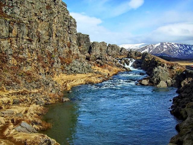 Þingvellir Drekkingarhylur - Thingvellir Drowning Pool
