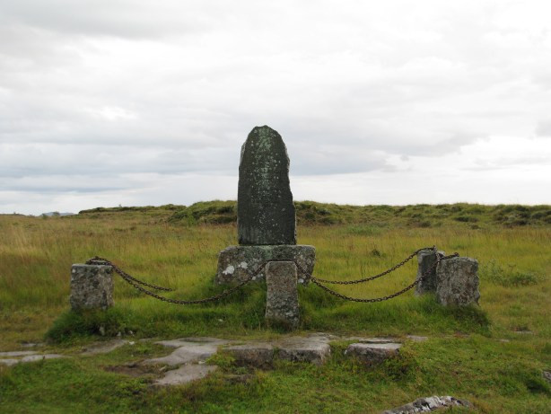 Jón Arason execution place at Skáholt