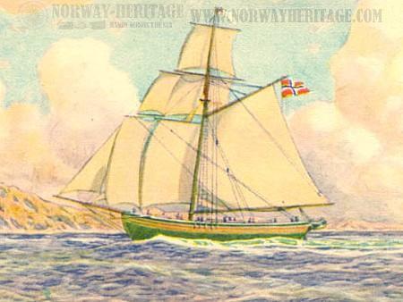 restaurationNorwayemigration1825