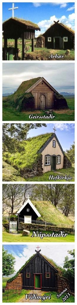 5 Turf Churches