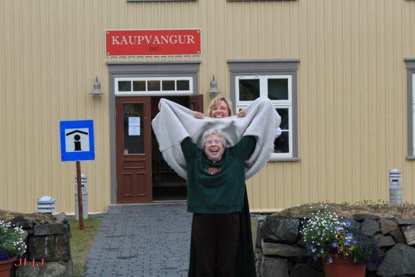 Cathy Josephson and Sunna Furstenau