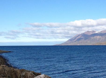 Leaving Iceland