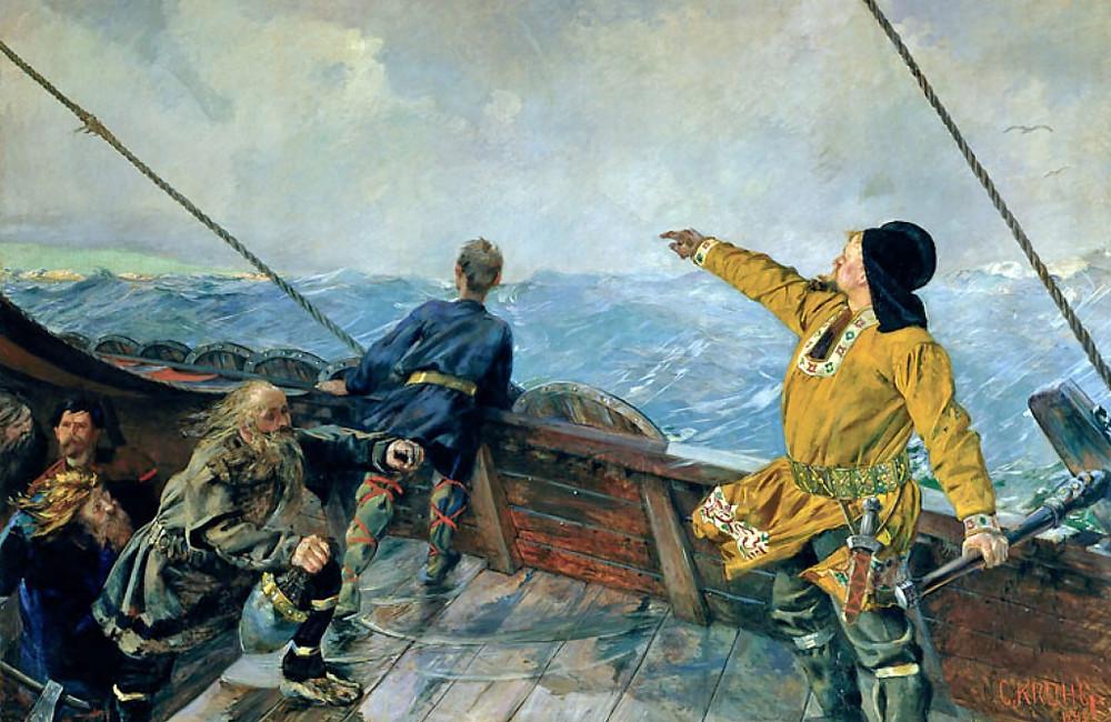 Christian Krohg Painting