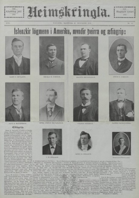 Icelandic Lawyers admitted to bar in 1902