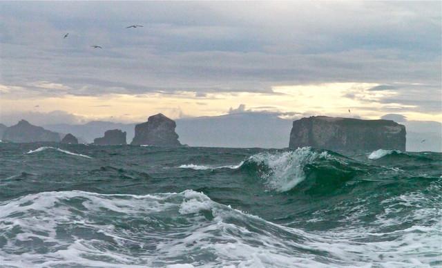 Vestmannaeyjar Rough Seas