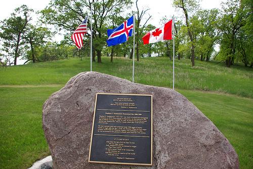 Stephan G Stephansson Monument in Gardar, North Dakota