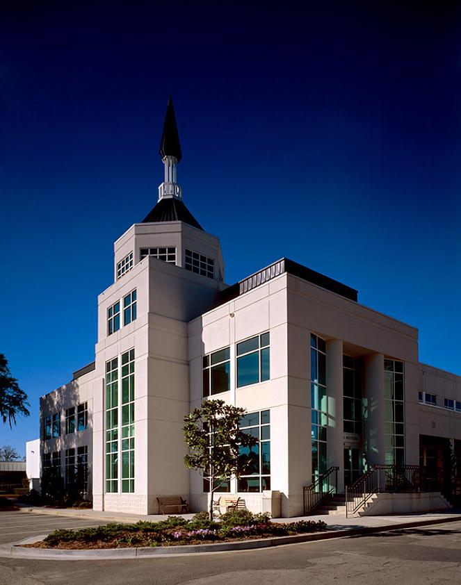 White church like looking hospital