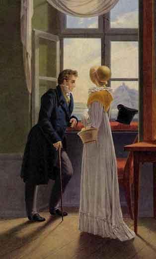 Couple at the Window - автора не наш