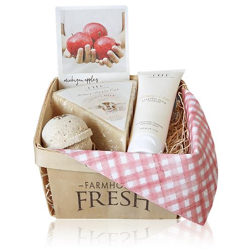 Apple Harvest Gift Basket