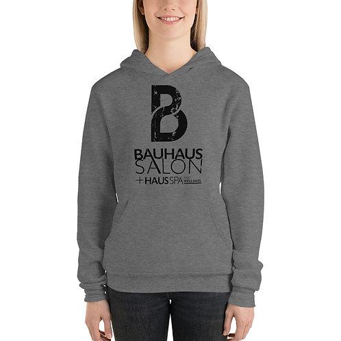 Bella Unisex hoodie (Black Logo)