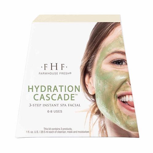 Hydration Cascade™ 3-step Instant Spa Facial