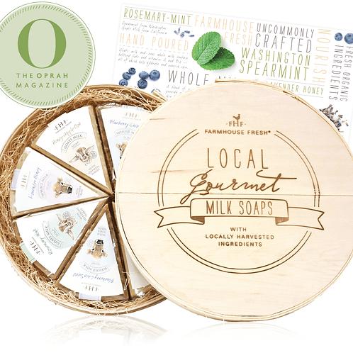 Local Gourmet Milk Soaps Set - Oprah Magazine Edition Local Gourmet Milk Soaps