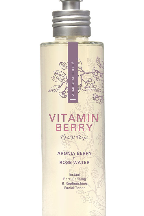 Vitamin Berry Facial Tonic - Instant Pore-Refining & Replenishing Facial Toner
