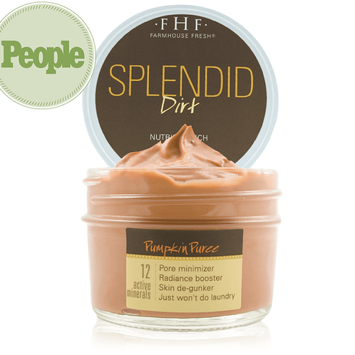 Splendid Dirt® Nutrient Mud Mask with Organic Pumpkin Puree