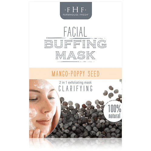 Mango-Poppy Seed Facial Buffing Mask