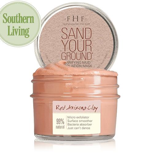 Sand Your Ground® Clarifying Mud Exfoliation Mask