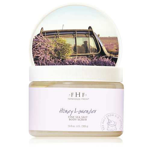 Honey Lavender Fine Body Scrub