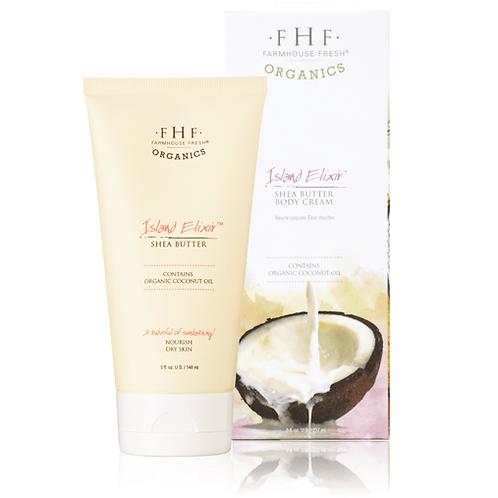Island Elixir® Organic Shea Butter Body Cream