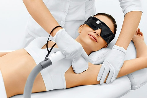 Laser Hair Removal Large Area (Six Sessions)