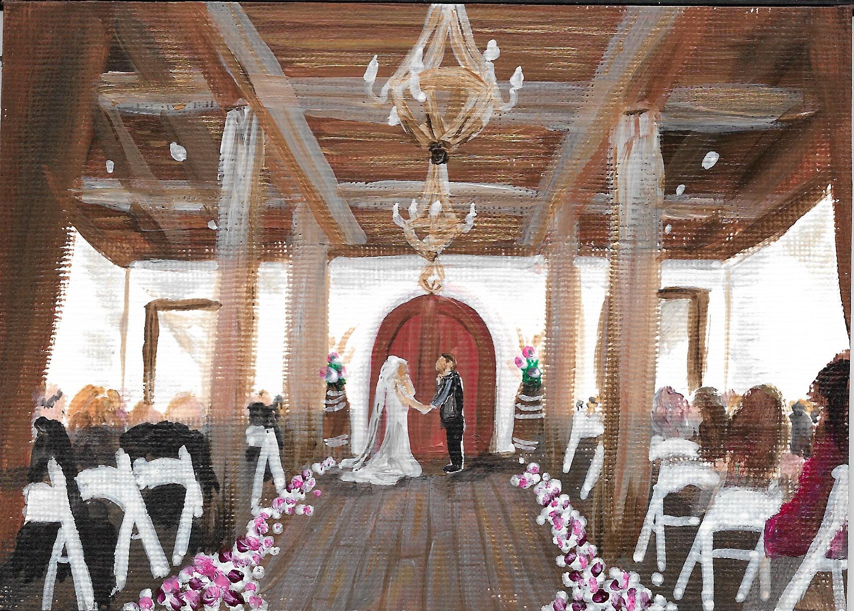 Acrylic - Wente Ceremony