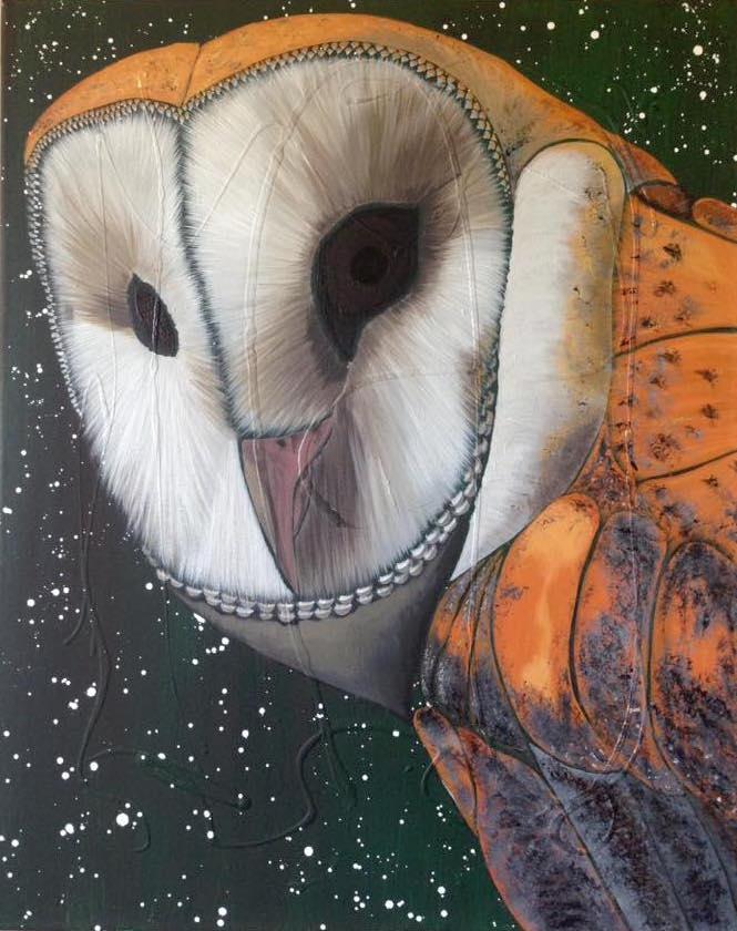 Acrylic Owl