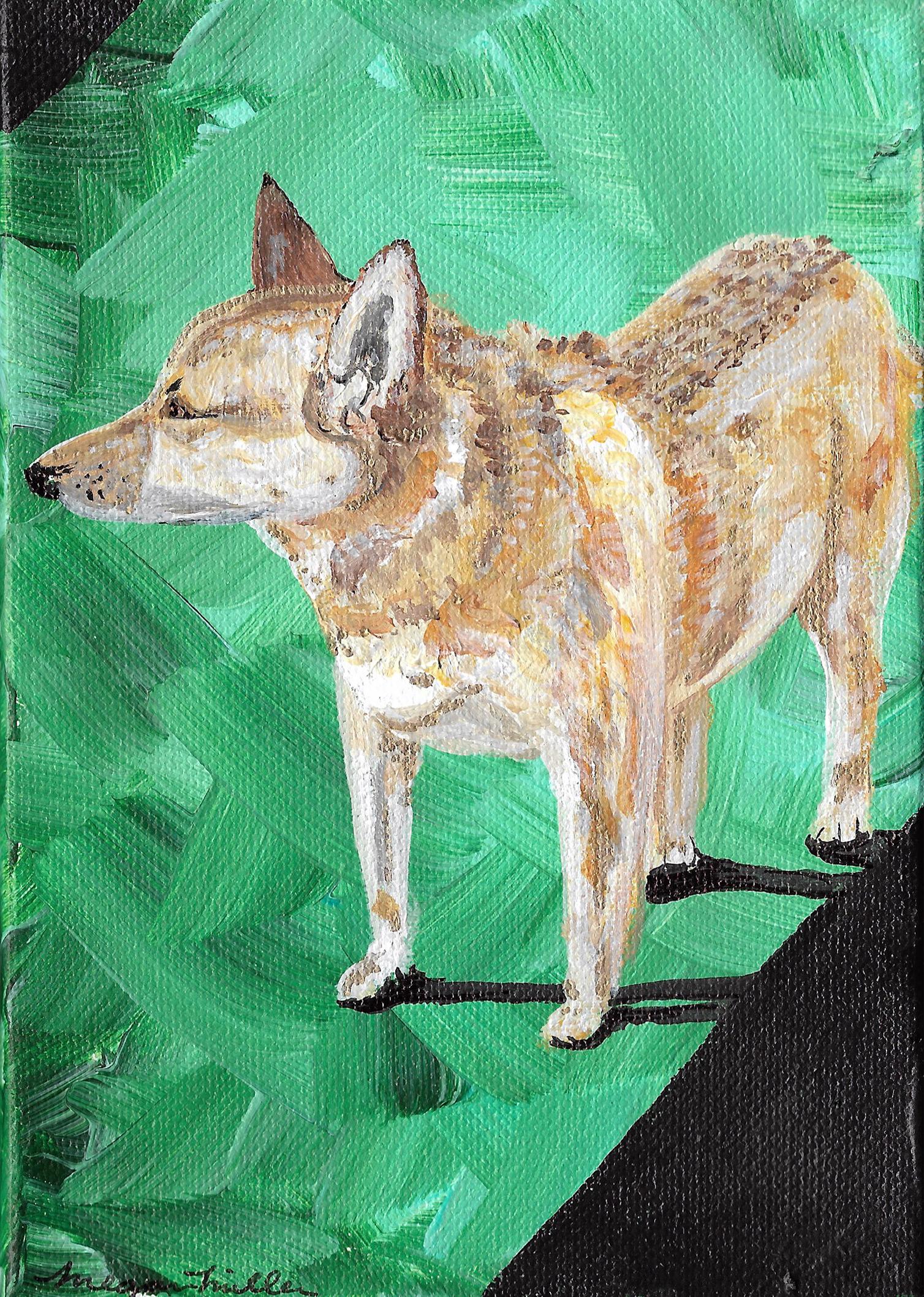 Acrylic Cattledog