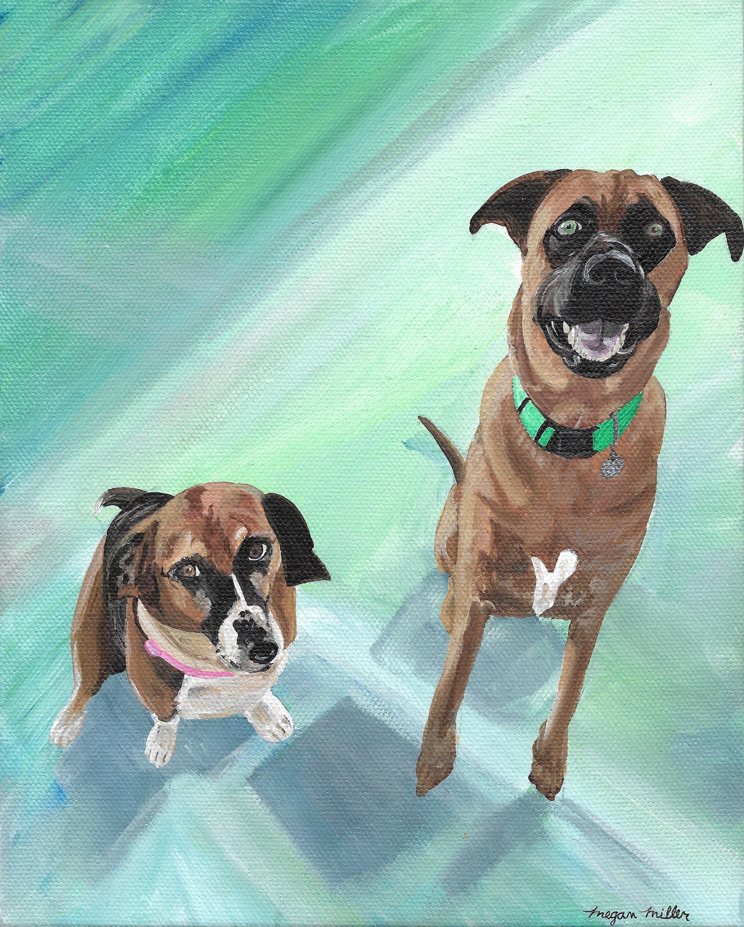 Acrylic Duo