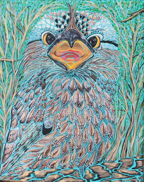 Tawny Frogmouth - Original SOLD