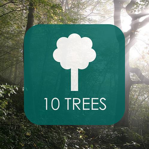 Trees x10