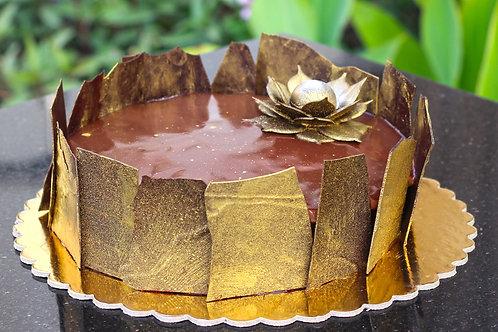 Chocolate Crunchy Cake - كيكه كرانجي شوكلاته