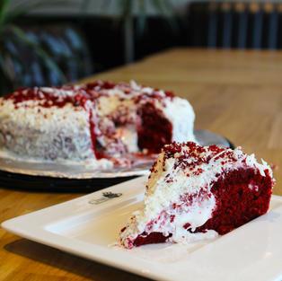 Red Velvet Mystery Cake