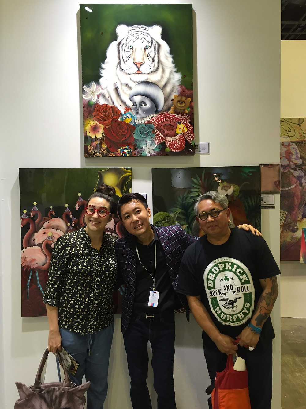 Saramello, Watson Tan and Eddie Hara - Art Front Gallery