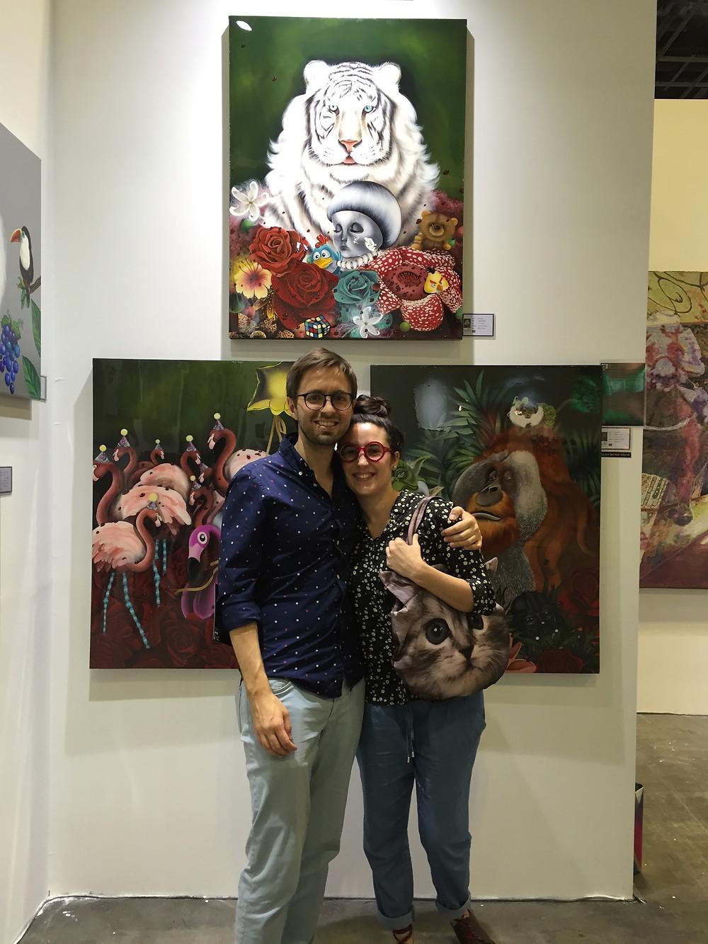 Art Front Gallery - Booth C09 - Suntec City Singapore