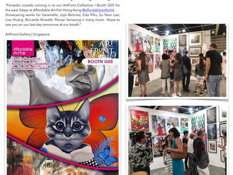 My artworks in Hong Kong