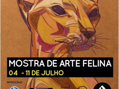 Group Exhibition of Feline Art - Brazil