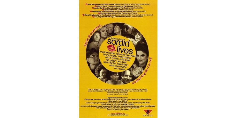 Original Sordid Lives Movie Poster